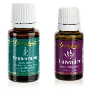 peppermint and lavender oil