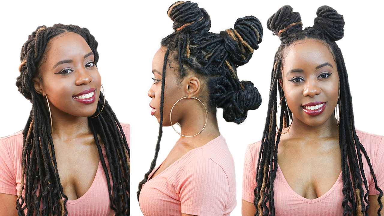 25 quick and easy faux locs and box braids hairstyles
